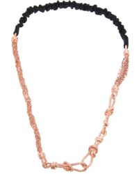 Maison Michel | Pink Necklace | Lyst