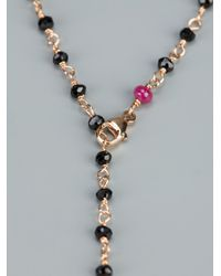 Maman Et Sophie - Metallic Rosary Bead Necklace - Lyst