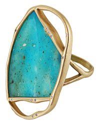 Monique Péan - Blue Opalina Ring - Lyst