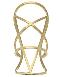 Pamela Love - Metallic Pentagram Cuff - Lyst