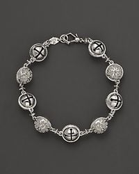 Paul Morelli - Metallic Large Granulated Inline Meditation Bell Bracelet - Lyst