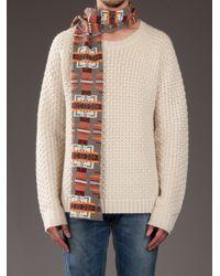 Pendleton - Gray Patterned Scarf for Men - Lyst