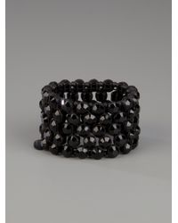 Philippe Audibert | Black Diamante Bracelet | Lyst
