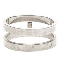 Repossi | Metallic Double Layer Berbere Ring | Lyst