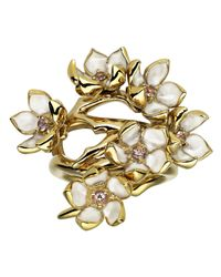 Shaun Leane | Metallic Multiple Cherry Blossom Ring | Lyst
