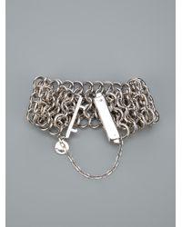 Stella McCartney | Metallic Chunky Chain Bracelet | Lyst