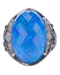 Stephen Webster - Blue Opal Ring - Lyst