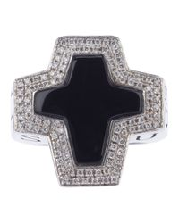 Stephen Webster | Metallic Sex Drugs and Rock N Roll Cross Ring | Lyst