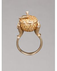 Stephen Webster | Yellow Small Poison Apple Ring | Lyst