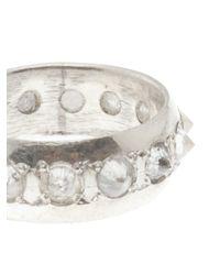 Stones Of Character - White Diamond Spike Ring for Men - Lyst