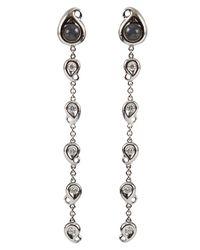 Tamara Comolli | White Paisley Labradorite Drop Earrings | Lyst
