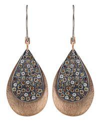 Todd Reed - Metallic 'autumn' Diamond Earrings - Lyst