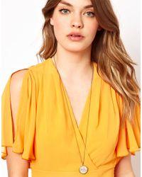 Cath Kidston | Multicolor Floral Locket Pendant | Lyst