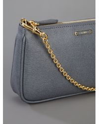 Fendi | Gray Chain Strap Bag | Lyst