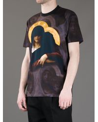 Givenchy - Multicolor Icon Print T-shirt for Men - Lyst