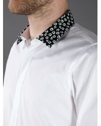 KENZO - Multicolor Floral Collar Shirt for Men - Lyst