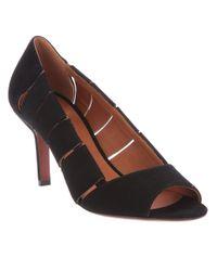 Michel Vivien | Black Open Toe Shoe | Lyst