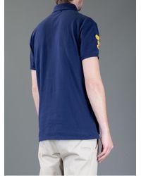 Ralph Lauren Blue Label - Blue Polo Shirt for Men - Lyst