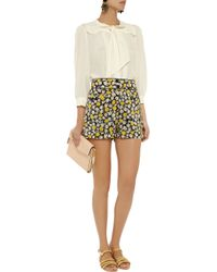 See By Chloé - White Silk Blouse - Lyst