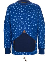 Vivienne Westwood Anglomania | Blue Star Sweater for Men | Lyst