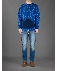 Vivienne Westwood Anglomania - Blue Star Sweater for Men - Lyst