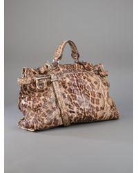 Zagliani | Brown Python Bag | Lyst