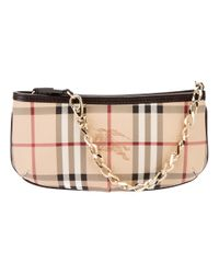 Burberry | Natural Classic Check Bag | Lyst