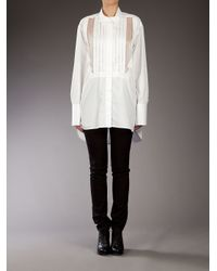 Ermanno Scervino | White Oversized Shirt | Lyst