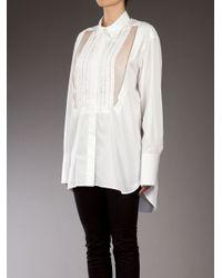 Ermanno Scervino - White Oversized Shirt - Lyst