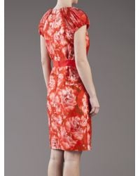 Giambattista Valli | Multicolor Printed Dress | Lyst