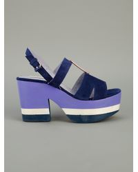 Opening Ceremony | Blue Glastonbury 5 Sandal | Lyst