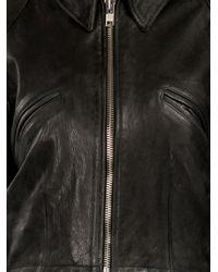 Petar Petrov - Black Goat Leather Jacket - Lyst