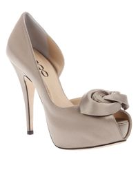 Rodo | Natural Platform Corsage Shoe | Lyst