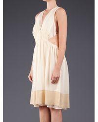 Vanessa Bruno | White Georgette Dress | Lyst