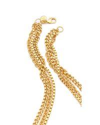 Ben-Amun - Metallic Layered Pendant Necklace - Lyst
