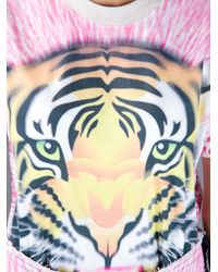 Bernhard Willhelm - Pink Tiger Tshirt - Lyst