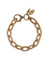 Bing Bang | Metallic Boyfriend Chain Bracelet | Lyst