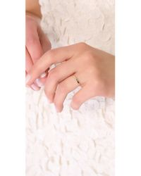 Blanca Monros Gomez | Metallic Flat Band Ring | Lyst
