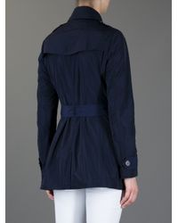 Burberry Brit - Blue Alcester Trench Coat - Lyst