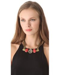 Citrine by the Stones | Pink Toltec Necklace | Lyst