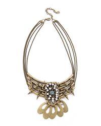 DANNIJO - Metallic Gusto Necklace - Lyst