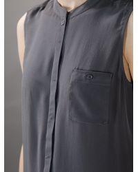Designers Remix | Gray Oversized Shirt Dress | Lyst