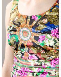 Dolce & Gabbana | Multicolor Majolica Print Brocade Dress | Lyst