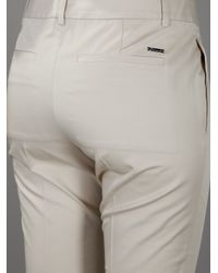 DSquared² | Natural Cropped Chino | Lyst