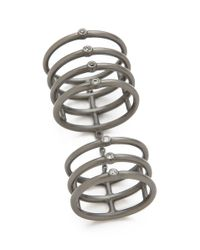 Elizabeth and James - White Berlin Knuckle Ring - Lyst