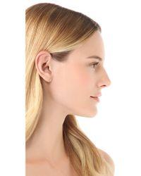 Gabriela Artigas - Yellow White Diamond Stud Earrings - Lyst