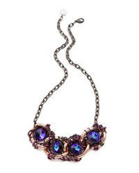 Gemma Redux | Blue Tanzanite Large Link Necklace | Lyst