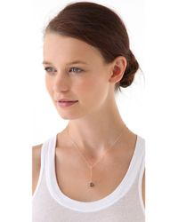 Ginette NY - Metallic Fools Gold Short Sautoir Necklace - Lyst
