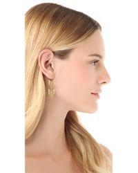 Gorjana - Metallic Chevron Tribal Earrings - Lyst