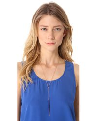 Heather Hawkins   Pink Dagger Y Necklace   Lyst